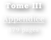 Tome III